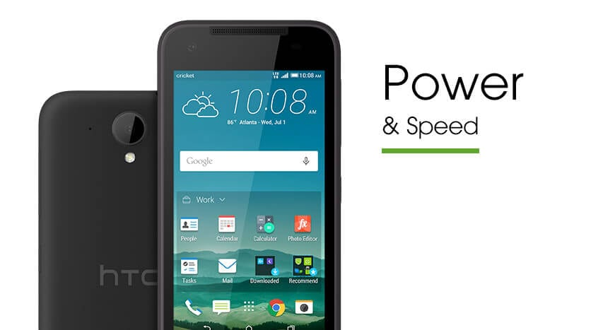 HTC Desire® 520 power and speed