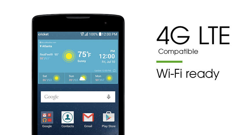 Feature 1 - 4G LTE Smartphone