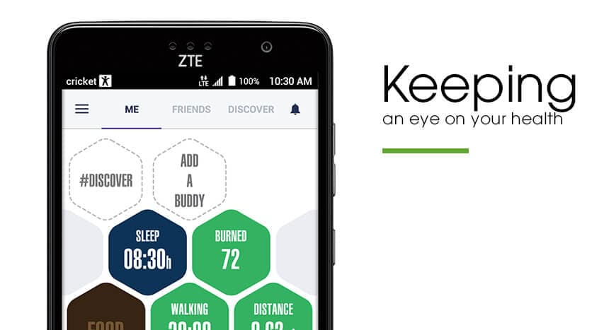 Feature 2 - Keep an eye on your health