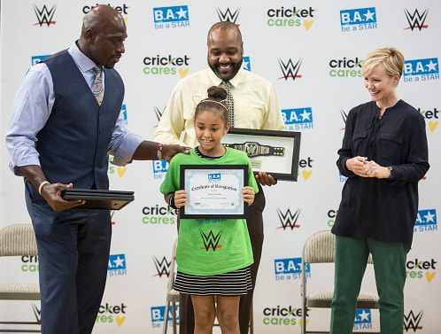 During the WWE SummerSlam weekend, Cricket Wireless and WWE teamed up with the Kips Bay Boys & Girls Club (B&G Club) of Bronx, New York