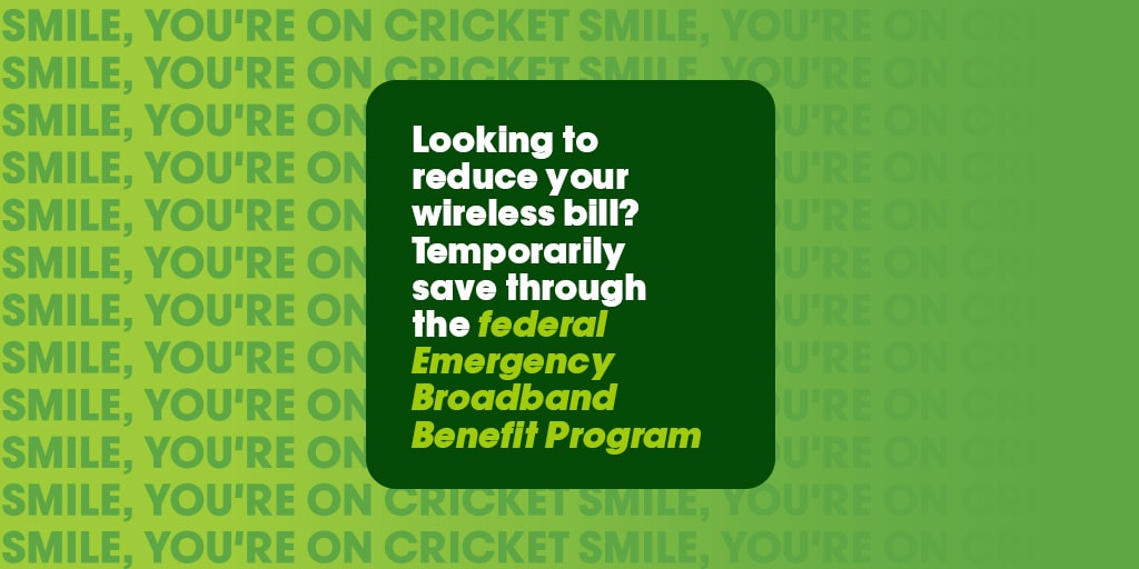 Looking to reduce your wireless bill? Temporarily save through the federal Emergency Broadband Benefit Program