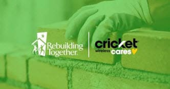 Rebuilding Together, Cricket Wireless Cares