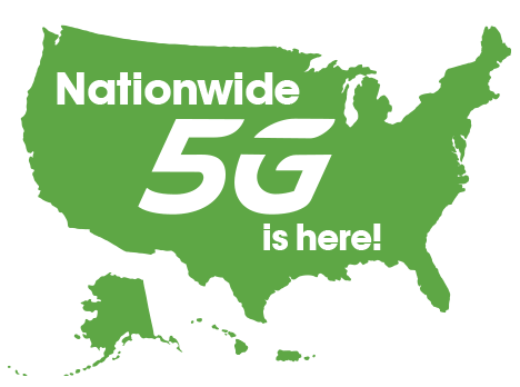 5G Nationwide Map
