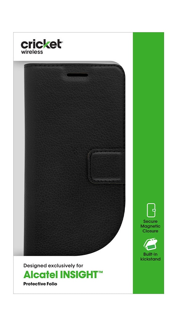Cricket Folio Wallet for Alcatel Insight