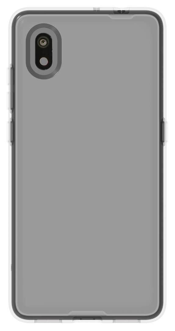 Estuche protector transparente QuikCell para Alcatel APPRISE