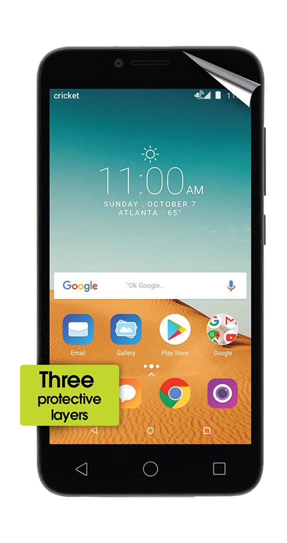 Cricket Screen Protector for Alcatel TETRA™