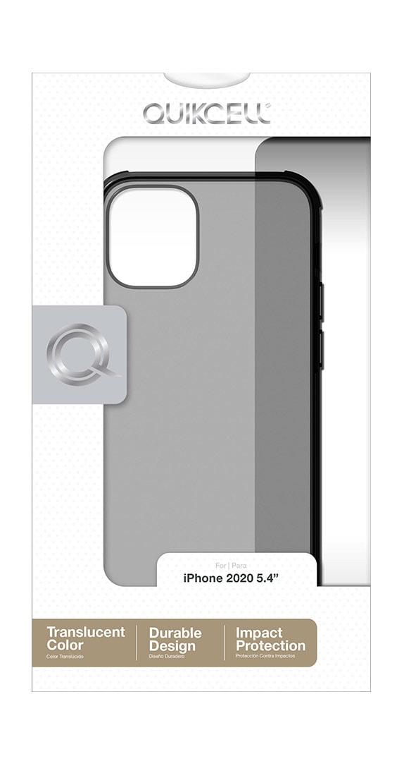 EstucheTransparente de la Serie Quikcell Icon TintparaiPhone 12 mini