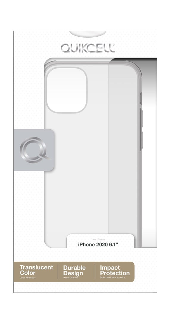 Quikcell Icon Tint Series Transparent Case for iPhone 12/12 Pro