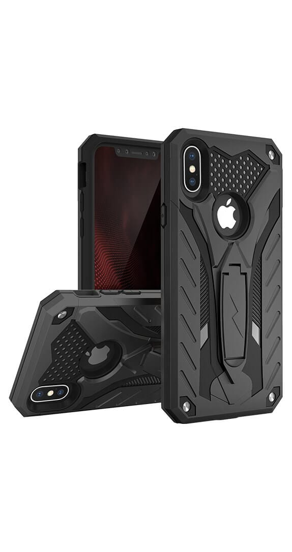 Zizo Static Cover w/Kickstand for iPhone XS Max
