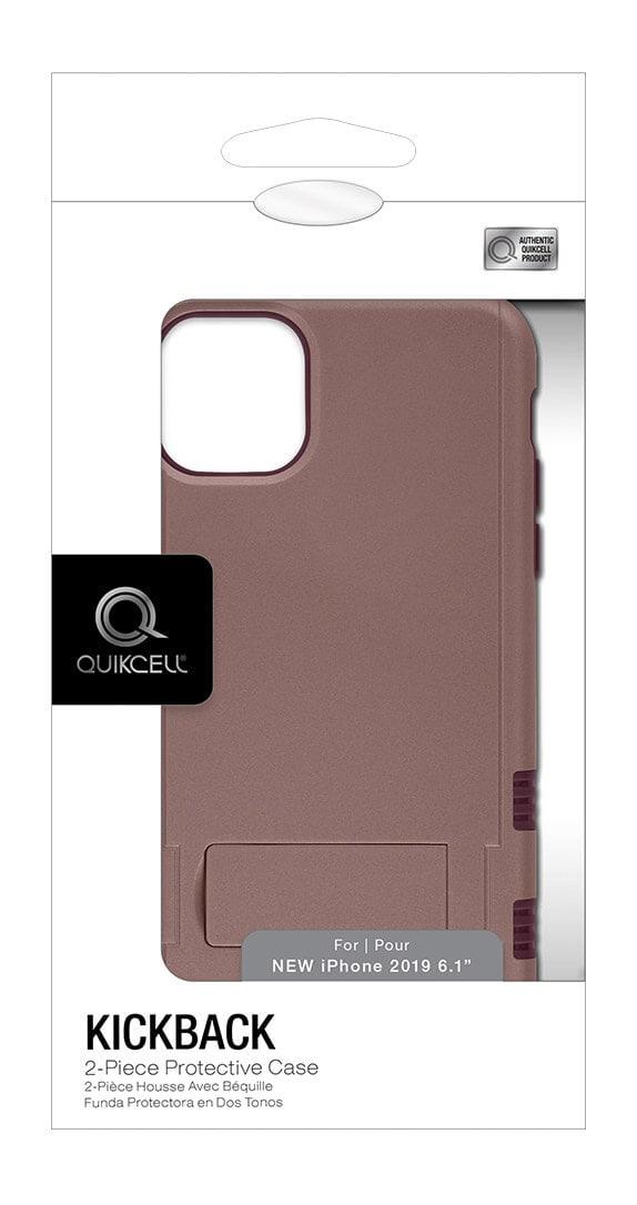Protector con Soporte de Dos Piezas Quikcell KICKBACK para iPhone 11
