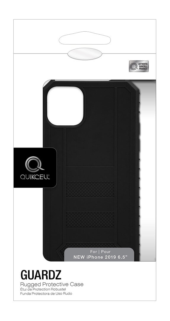 Estuche Rígido Quickcell GUARDZ para iPhone 11 Pro Max