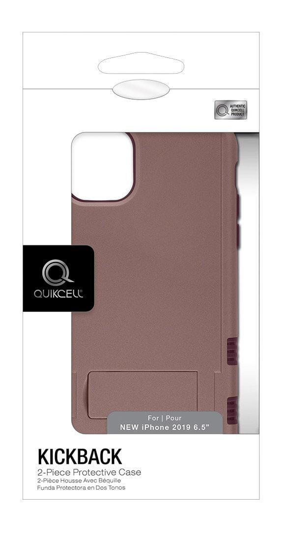 Protector con Soporte de Dos Piezas Quikcell KICKBACK para iPhone 11 Pro Max