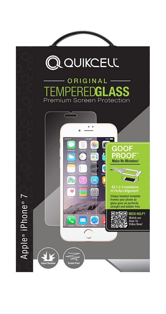 Quikcell Goof Proof Extreme Glass para iPhone 6s/7/8
