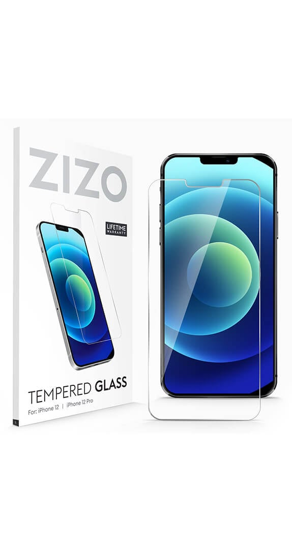 ZIZO Tempered Glass Full Glue for iPhone 12