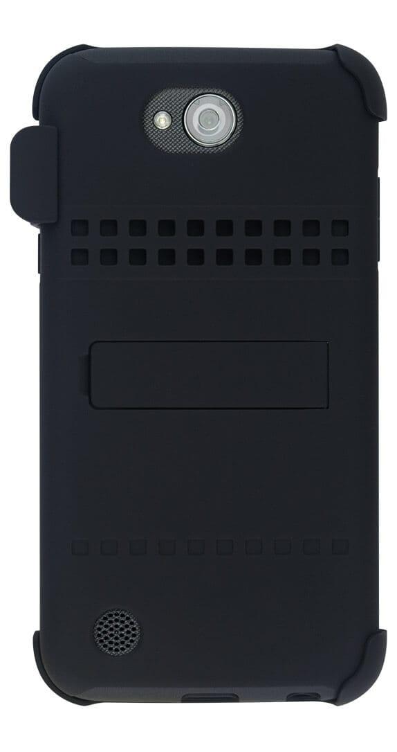 Estuche de Dos Piezas con Soporte y Funda para el LG X charge™