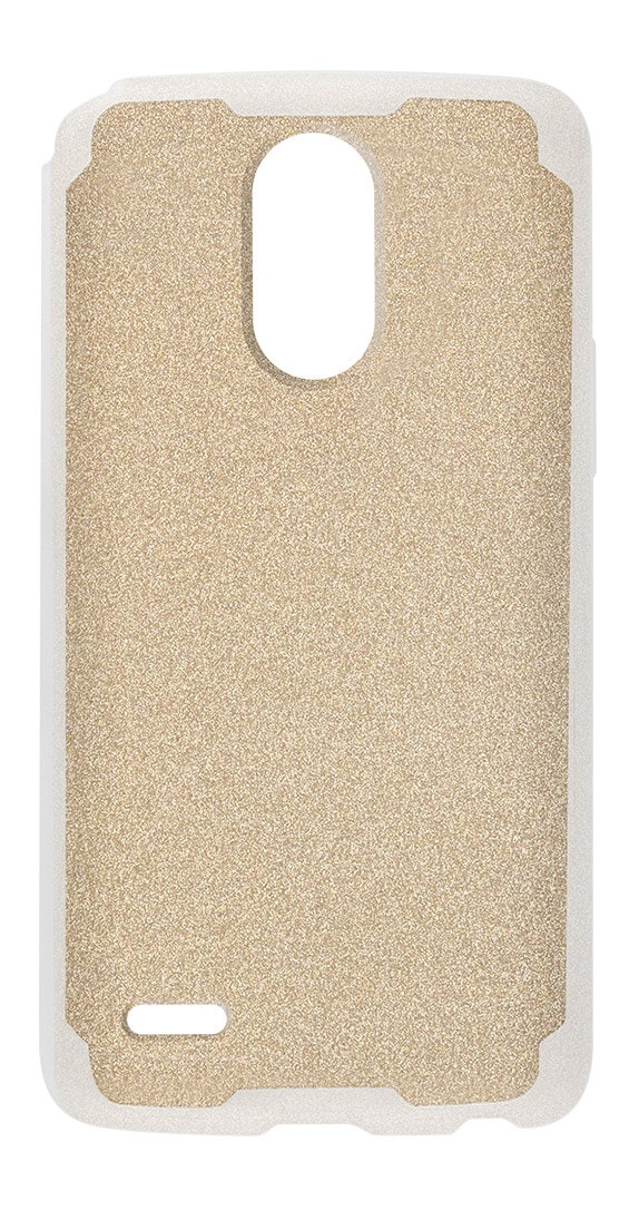 Two-Tone Designer Shield & SP w/Glitter insert for LG Stylo™ 3