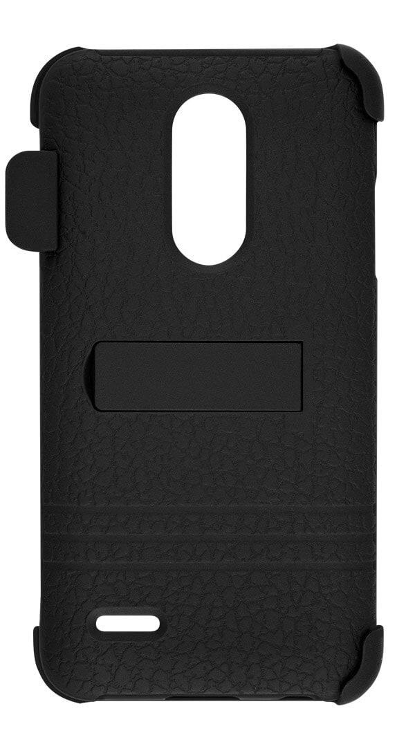 Two-Piece Kickstand Shield with Holster for LG Harmony™ 2