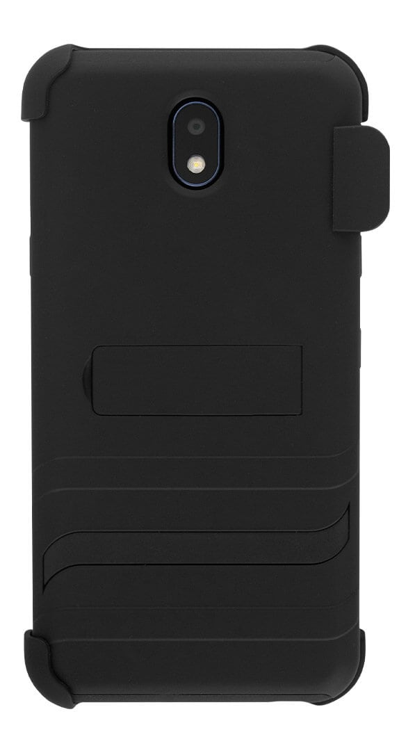 Cricket Holster Combo with Two-Piece Kickstand Shield for LG Escape Plus