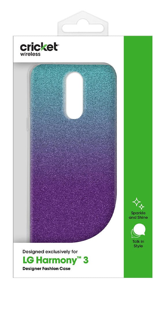 Cricket Fashion Gel Case for LG Harmony 3