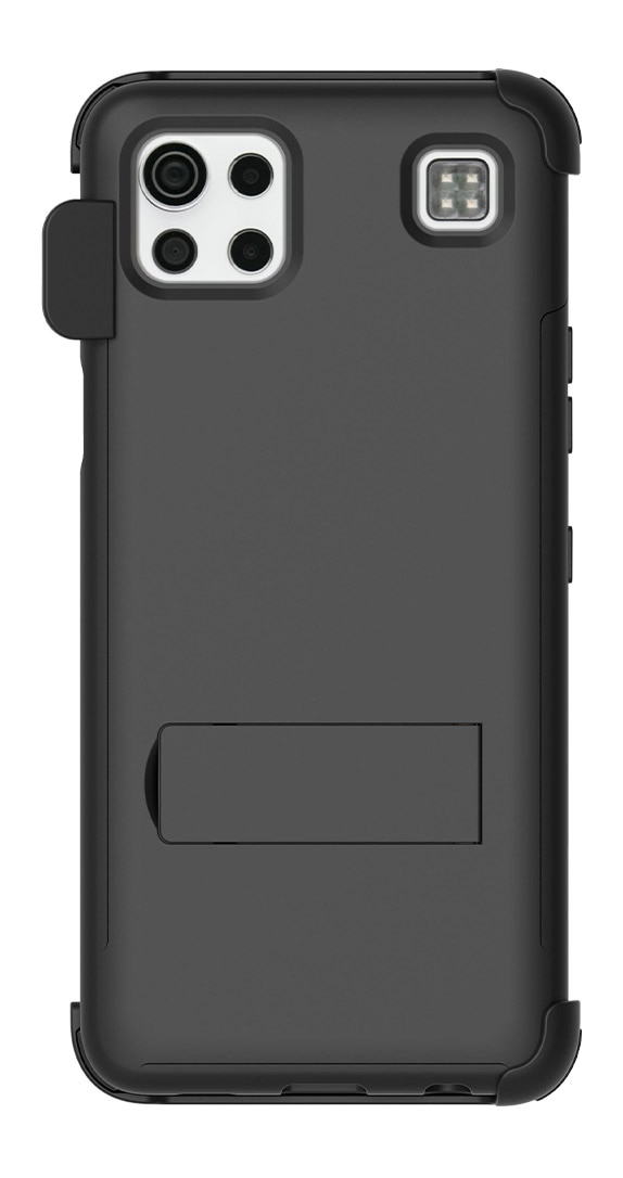 Quikcell LG K92 5G Dual-Layer Kickstand Case and Holster