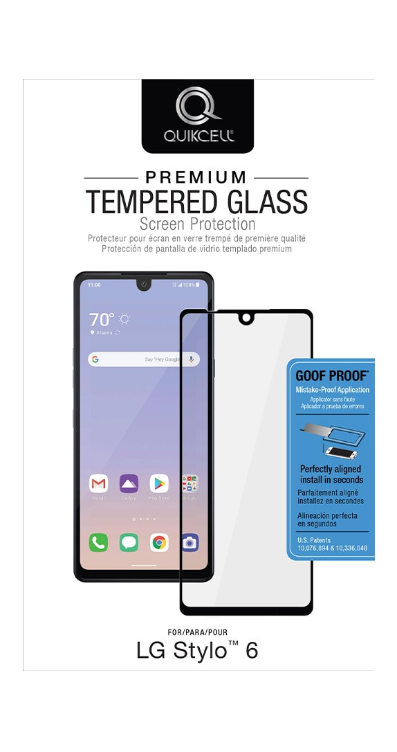 QuikCell Tempered Glass for LG Stylo 6