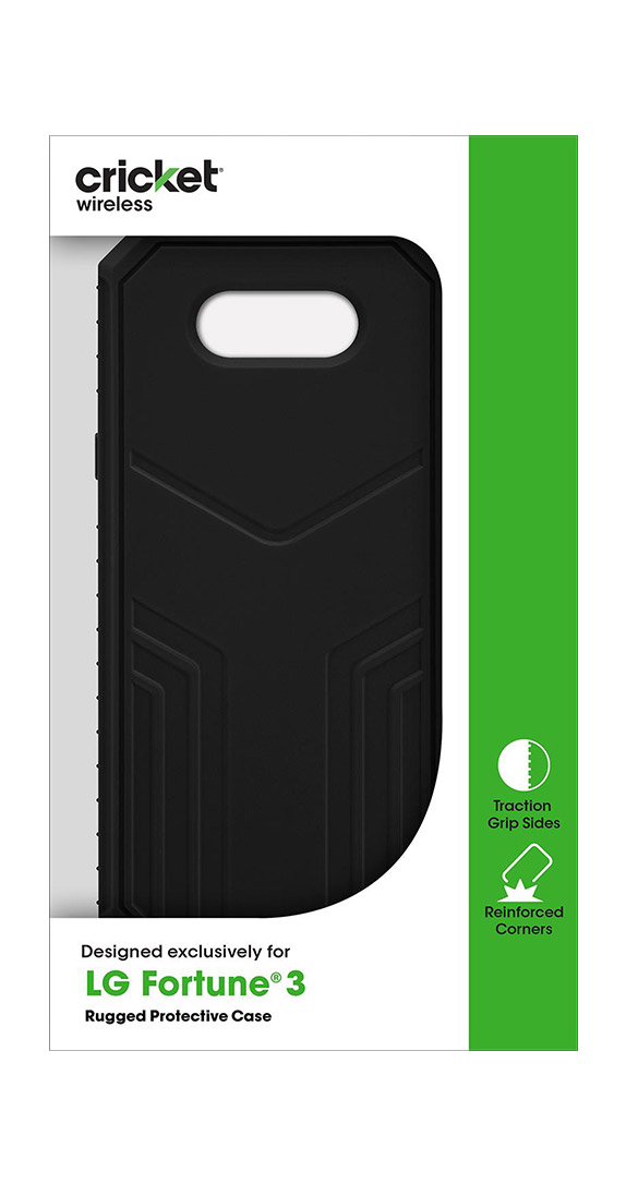 Cricket Rugged Case for LG Fortune 3