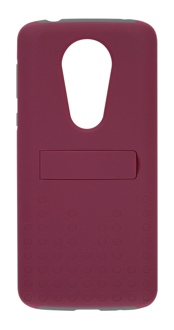 Two-Piece Kickstand Shield and Screen Protector for moto e<sup>5</sup> SUPRA