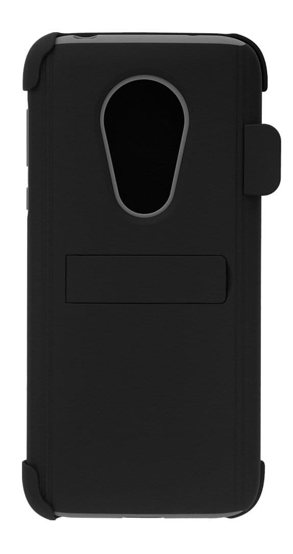 Cricket Holster Combo with Two-Piece Kickstand Shield for moto G7 SUPRA