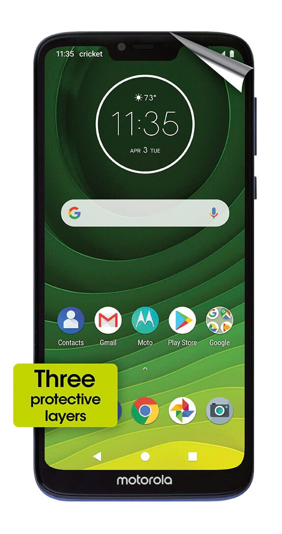Cricket Screen Protector for moto G7 SUPRA