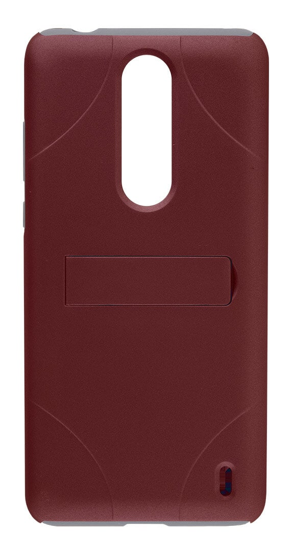 Cricket Two-Piece Kickstand Shield with Holster for Nokia 3.1 Plus