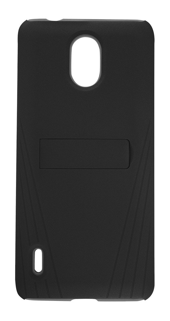 Cricket Two-Piece Kickstand Shield with Screen Protector for Nokia 3.1 C