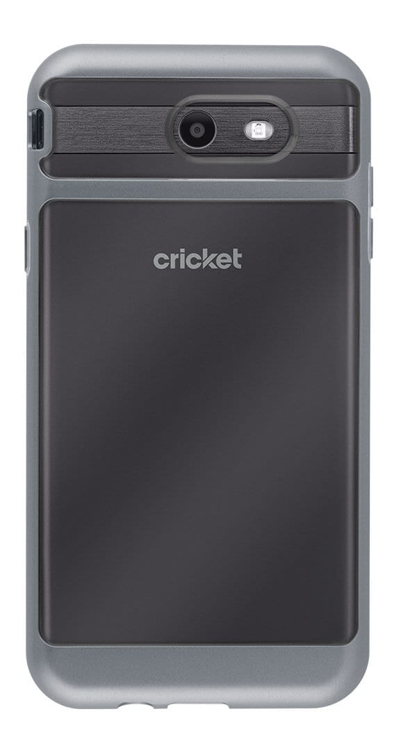 Cricket Two-Piece Designer Shield and Screen Protector for Samsung Galaxy Halo