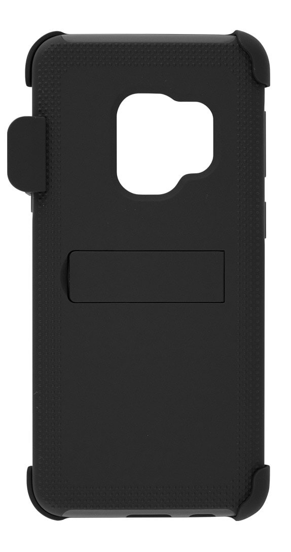 Cricket Two-Piece Kickstand Shield with Holster for Samsung Galaxy S9