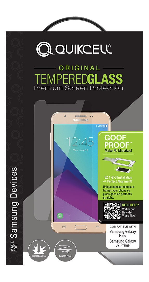 Goof Proof Glass Screen Protector for Samsung Galaxy Halo