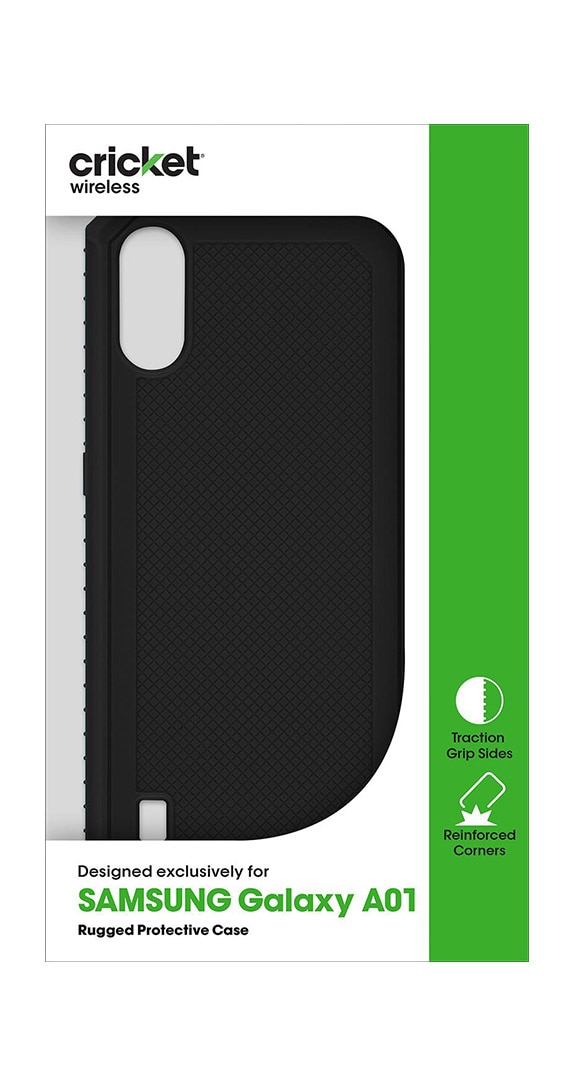 Cricket Rugged Case for Samsung Galaxy A01