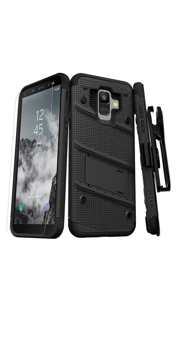 Zizo Bolt Cover w/Kickstand & Holster for Samsung Galaxy A6