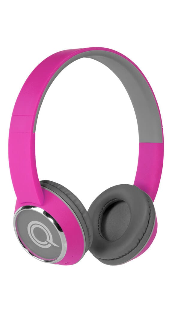 Color Burst HARMONIZE Bluetooth Headphones by Quikcell