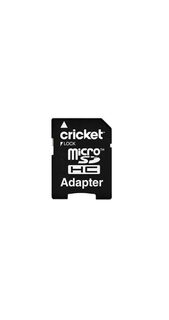 Tarjeta de Memoria microSDHC Cricket de 8 GB