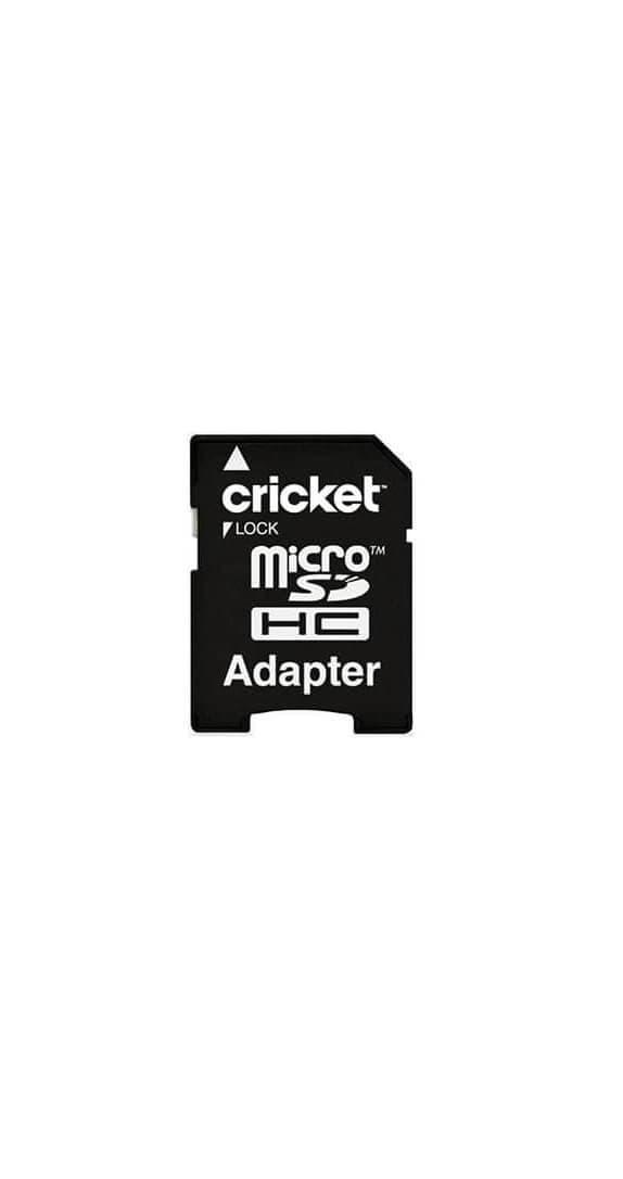 Tarjeta de Memoria microSDHC Cricket de 32 GB