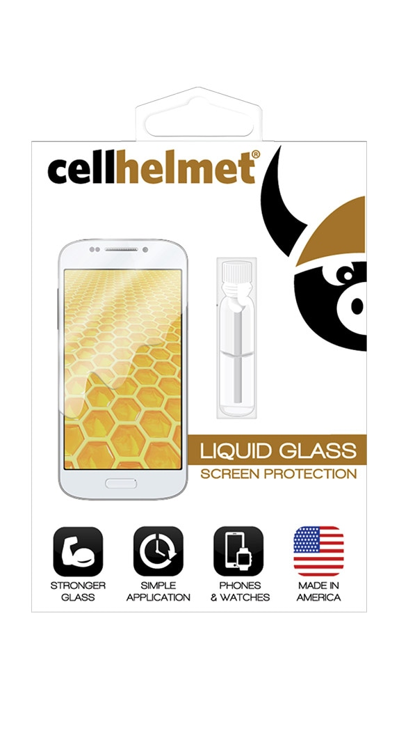 Cricket Screen Protector Liquid Glass by Cellhelmet