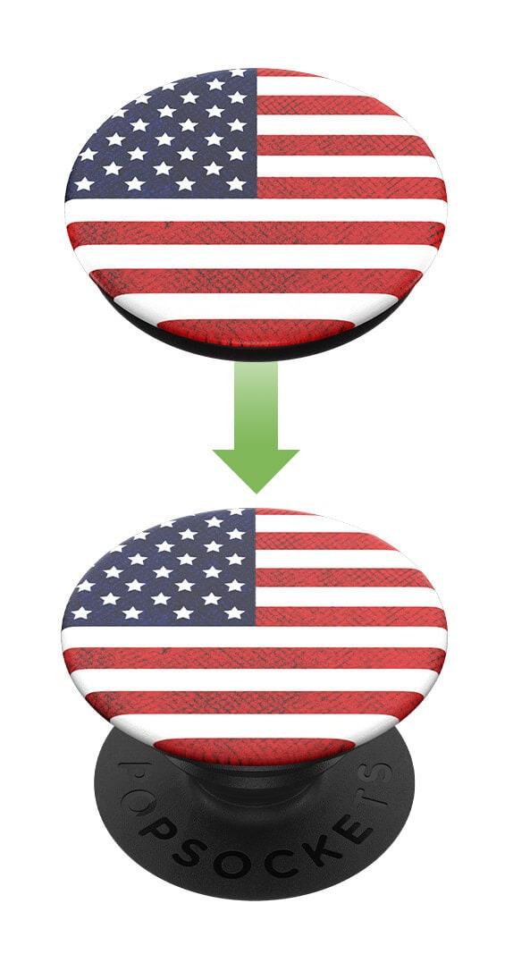 PopSockets - Vintage American Flag