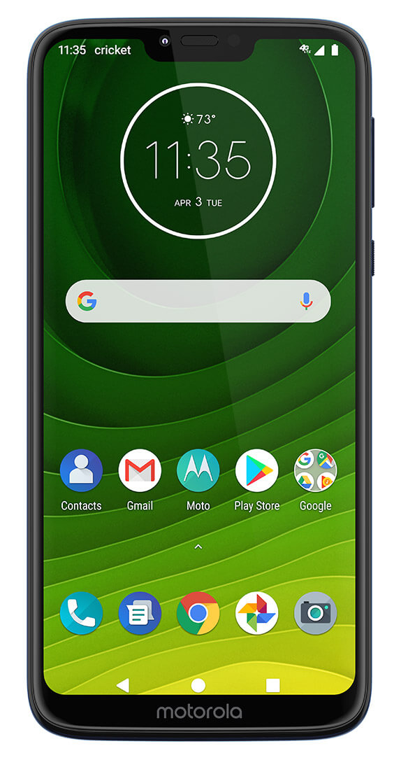 Motorola moto g7 SUPRA: Price, Specs & Deals | Cricket Wireless