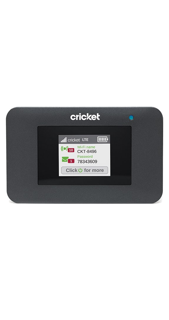 Cricket Turbo Hotspot: Price, Specs & Deals | Cricket Wireless